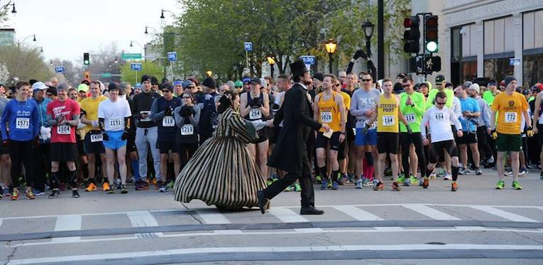 Michael Krebs and Debra Ann Miller, Lincoln                 Presidential Half Marathon